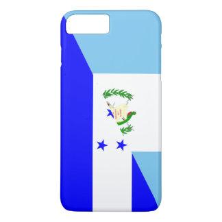 halbes Flaggensymbol Guatemalas Honduras iPhone 8 Plus/7 Plus Hülle