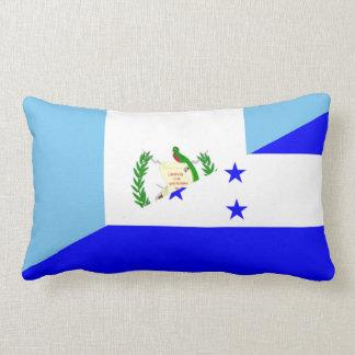 halbes Flaggensymbol Guatemalas Honduras Lendenkissen