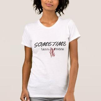 halbes Hülsen- und Crewhalst-shirt mit einem T-Shirt
