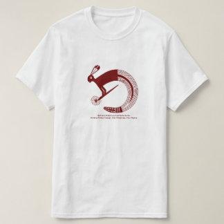Halbes Jack-Kaninchen und halbe Geklapper-Schlange T-Shirt