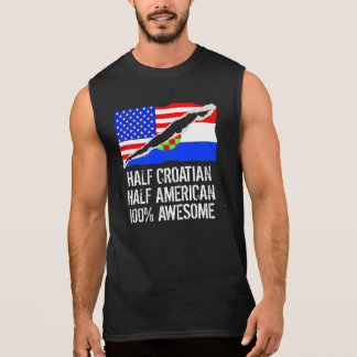 rmellose kroatien shirts kroatien sleeveless t shirts t shirts f r m nner. Black Bedroom Furniture Sets. Home Design Ideas