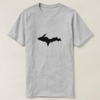 Halbinsel-Logo-Shirt der Männer schwarzes oberes T-Shirt