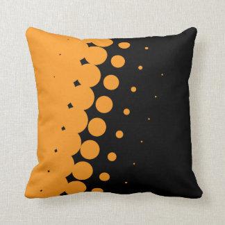 Halbschatten-Ebenholz-(orange) Kissen