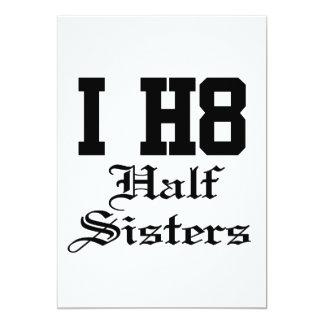 Halbschwestern 12,7 X 17,8 Cm Einladungskarte