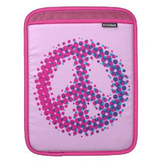 Halbtonfriedenssymbol Sleeve Für iPads