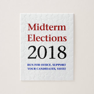 Halbzeit-Wahlen 2018 Puzzle