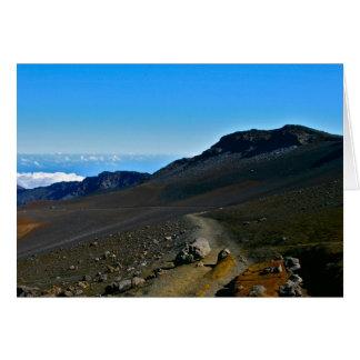 Haleakala Nationalpark Karte