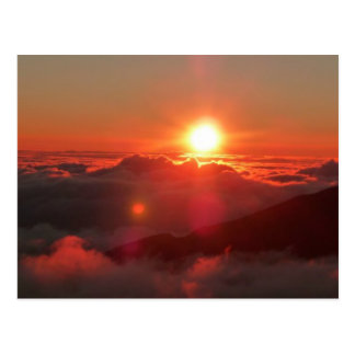 Haleakala Sonnenaufgang Postkarte