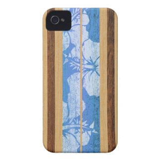 Haleiwa Surfbrett-hawaiisches BlackBerry-mutiger iPhone 4 Case-Mate Hülle