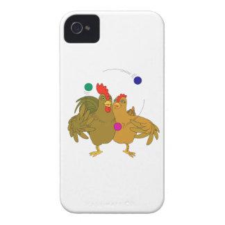 Half chicken juggling iPhone 4 Case-Mate hülle