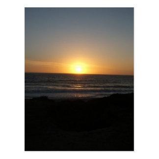 Half Moon Bay, CA Postkarte