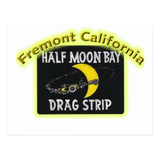 Half Moon Bay Dragstrip Postkarte