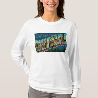 Half Moon Bay, Kalifornien - große T-Shirt