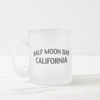 Half Moon Bay Kalifornien Mattglastasse