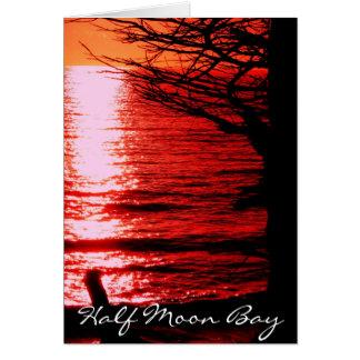 Half Moon Bay Karte