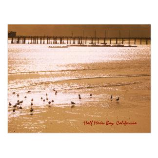 Half Moon Bay Postkarte