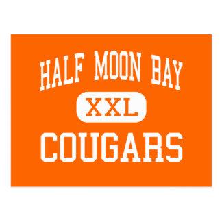 Half Moon Bay - Pumas - hoch - Half Moon Bay Postkarte