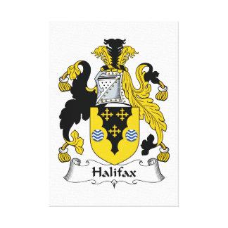 Halifax-Familienwappen Galerie Faltleinwand