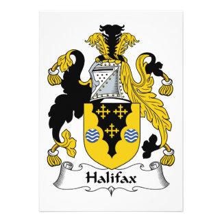 Halifax-Familienwappen Individuelle Einladungen