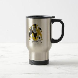 Halifax-Familienwappen Kaffeehaferl