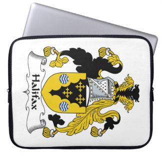 Halifax-Familienwappen Laptop Computer Schutzhülle