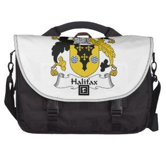 Halifax-Familienwappen Laptop Taschen
