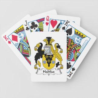 Halifax-Familienwappen Pokerkarten