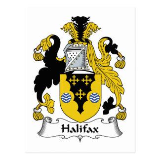 Halifax-Familienwappen Postkarte