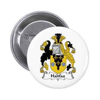 Halifax-Familienwappen Runder Button 5,7 Cm
