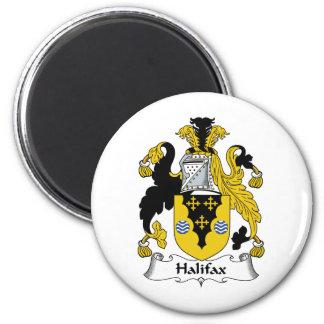 Halifax-Familienwappen Runder Magnet 5,1 Cm