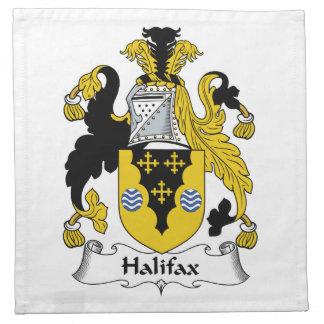 Halifax-Familienwappen Stoff Serviette