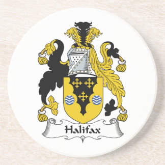 Halifax-Familienwappen Untersetzer
