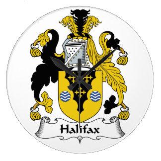 Halifax-Familienwappen Wanduhren