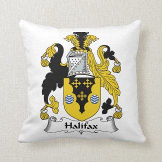 Halifax-Familienwappen Zierkissen