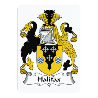 Halifax Family Crest Announcements