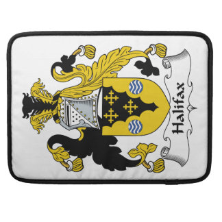 Halifax Family Crest Sleeves For MacBook Pro