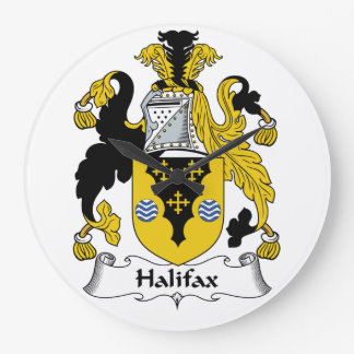 Halifax Family Crest Wallclocks
