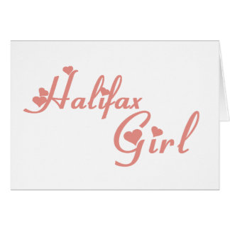 Halifax-Mädchen Karte