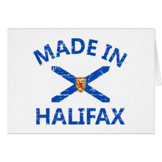 Halifax-Wappen Karte