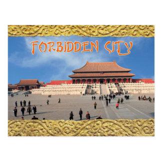 Hall der Obersten Harmonie, verbotene Stadt, China Postkarte