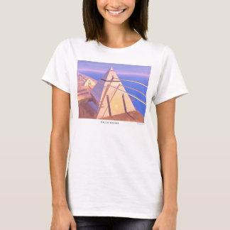 Hall der Platten - der T - Shirt der Frauen