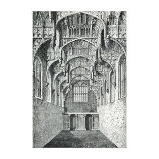 Hall des Hampton Court-Palastes Leinwanddruck