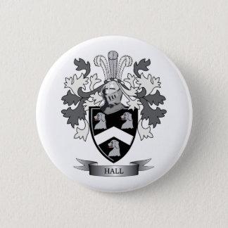 Hall-Familienwappen-Wappen Runder Button 5,1 Cm