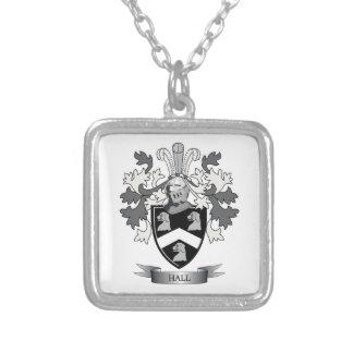 Hall-Familienwappen-Wappen Versilberte Kette