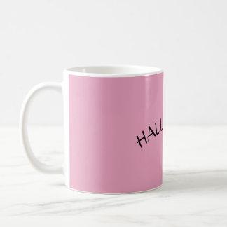 Halleluja-rosa Kaffee-Tasse Kaffeetasse