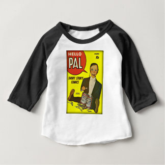 Hallo Abdeckungs-Kunst des Kumpel-#2 Charlie Baby T-shirt