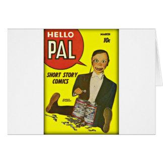 Hallo Abdeckungs-Kunst des Kumpel-#2 Charlie Karte