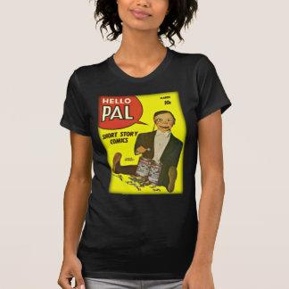 Hallo Abdeckungs-Kunst des Kumpel-#2 Charlie T-Shirt