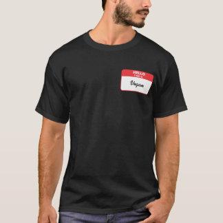 Hallo bin ich ein veganes T-Shirt
