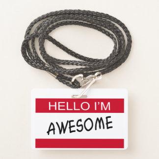 Hallo bin ich fantastisch ausweis